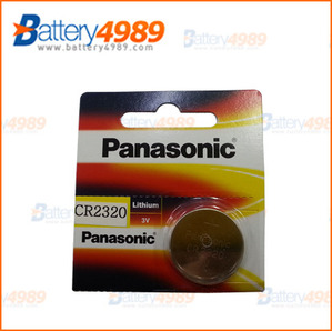 PANASONIC  CR2320  (3V 130mAh)